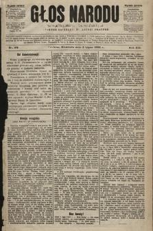 Głos Narodu : dziennik polityczny, założony w r. 1893 przez Józefa Rogosza (wydanie poranne). 1905, nr179
