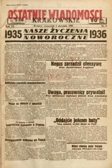 Ostatnie Wiadomości Krakowskie. 1936, nr2