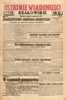 Ostatnie Wiadomości Krakowskie. 1936, nr4