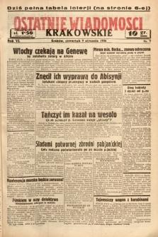 Ostatnie Wiadomości Krakowskie. 1936, nr9