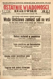 Ostatnie Wiadomości Krakowskie. 1936, nr13