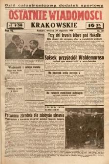 Ostatnie Wiadomości Krakowskie. 1936, nr28