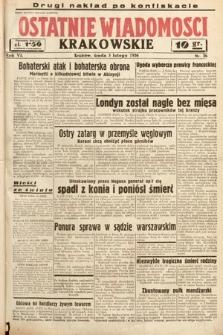 Ostatnie Wiadomości Krakowskie. 1936, nr36