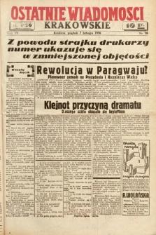Ostatnie Wiadomości Krakowskie. 1936, nr38