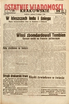 Ostatnie Wiadomości Krakowskie. 1936, nr39