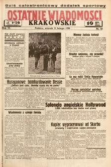 Ostatnie Wiadomości Krakowskie. 1936, nr42