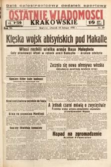 Ostatnie Wiadomości Krakowskie. 1936, nr49