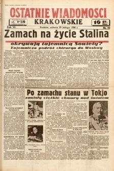 Ostatnie Wiadomości Krakowskie. 1936, nr60