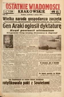 Ostatnie Wiadomości Krakowskie. 1936, nr61
