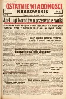 Ostatnie Wiadomości Krakowskie. 1936, nr68