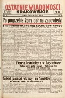 Ostatnie Wiadomości Krakowskie. 1936, nr90