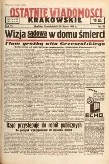 Ostatnie Wiadomości Krakowskie. 1936, nr92
