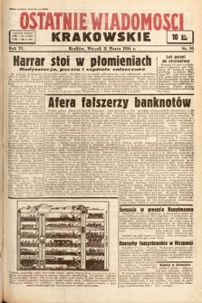 Ostatnie Wiadomości Krakowskie. 1936, nr93