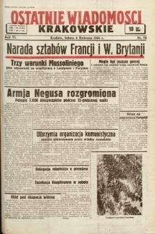Ostatnie Wiadomości Krakowskie. 1936, nr98