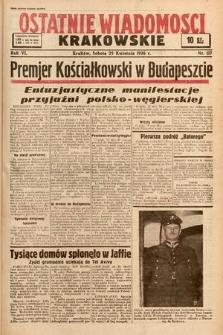 Ostatnie Wiadomości Krakowskie. 1936, nr117