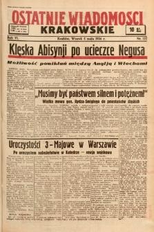 Ostatnie Wiadomości Krakowskie. 1936, nr127
