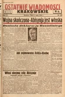 Ostatnie Wiadomości Krakowskie. 1936, nr130