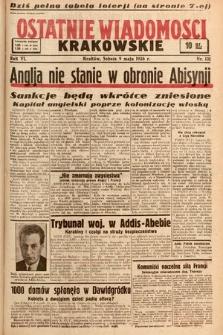 Ostatnie Wiadomości Krakowskie. 1936, nr131