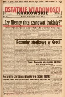 Ostatnie Wiadomości Krakowskie. 1936, nr133