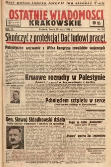 Ostatnie Wiadomości Krakowskie. 1936, nr142