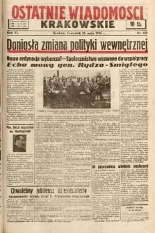 Ostatnie Wiadomości Krakowskie. 1936, nr150
