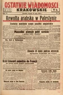 Ostatnie Wiadomości Krakowskie. 1936, nr151