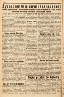 Ostatnie Wiadomości Krakowskie. 1936, nr181