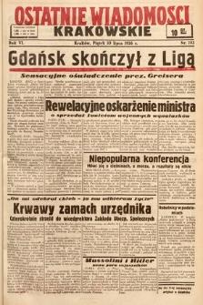 Ostatnie Wiadomości Krakowskie. 1936, nr193