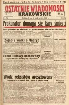 Ostatnie Wiadomości Krakowskie. 1936, nr303