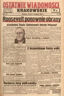 Ostatnie Wiadomości Krakowskie. 1936, nr312