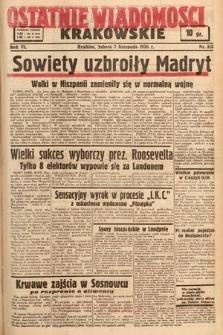 Ostatnie Wiadomości Krakowskie. 1936, nr313