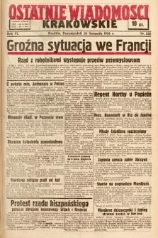 Ostatnie Wiadomości Krakowskie. 1936, nr336