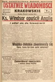 Ostatnie Wiadomości Krakowskie. 1936, nr351