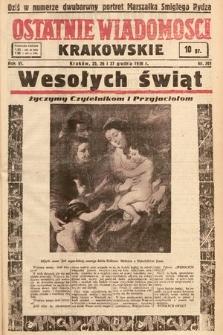 Ostatnie Wiadomości Krakowskie. 1936, nr361
