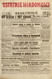 Ostatnie Wiadomości Krakowskie. 1934, nr130