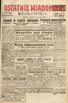 Ostatnie Wiadomości Krakowskie. 1934, nr179