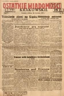 Ostatnie Wiadomości Krakowskie. 1935, nr26