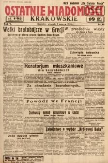 Ostatnie Wiadomości Krakowskie. 1935, nr64