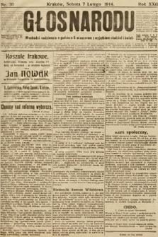 Głos Narodu. 1914, nr30