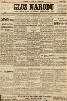Głos Narodu. 1914, nr46