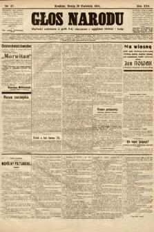 Głos Narodu. 1914, nr97
