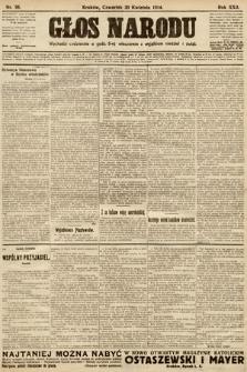 Głos Narodu. 1914, nr98