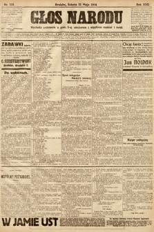 Głos Narodu. 1914, nr116