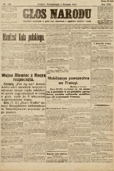 Głos Narodu. 1914, nr176