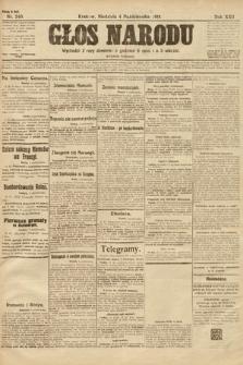 Głos Narodu (wydanie poranne). 1914, nr240