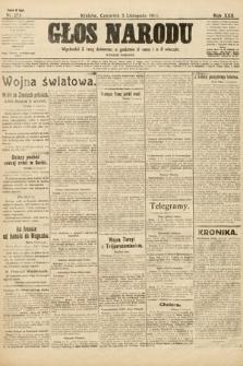 Głos Narodu (wydanie poranne). 1914, nr273
