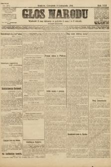 Głos Narodu (wydanie wieczorne). 1914, nr273