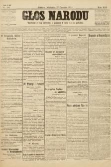 Głos Narodu (wydanie poranne). 1914, nr284