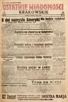 Ostatnie Wiadomości Krakowskie. 1933, nr181
