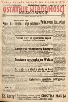 Ostatnie Wiadomości Krakowskie. 1933, nr195